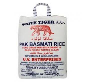 White Tiger Rice 10kg | Elephant House